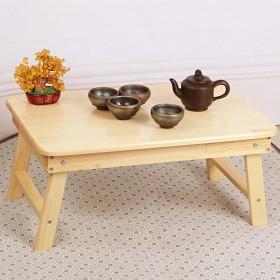 全实木折叠桌飘窗桌 儿童书桌床上用电脑桌【限地区】