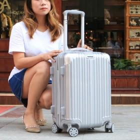 镜面时尚行李箱女学生拉杆箱万向轮旅行箱202426