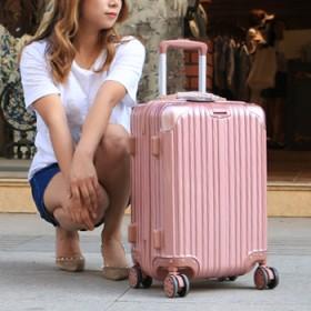 镜面小清新时尚行李箱男女万向轮拉杆箱202426寸