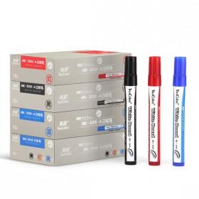 【10支装 】真彩白板笔彩色可擦白板专用黑蓝红色