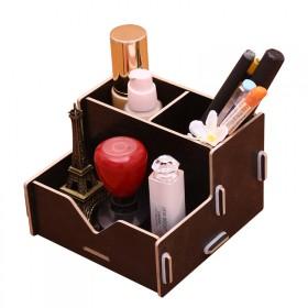 创意时尚笔筒送手机架桌面笔桶收纳盒工具办公文具用品
