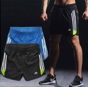 速干运动短裤男 弹力大码训练跑步三分裤