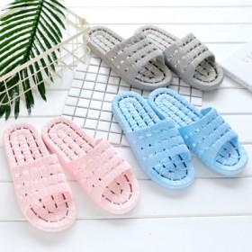 浴室拖鞋防滑男女塑料家居情侣凉拖鞋夏季