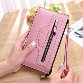 女士钱包女长款 日韩版大容量多功能拉链女式钱夹皮夹