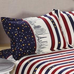 48x75斜纹棉磨毛大枕套一对2只装28色不起球
