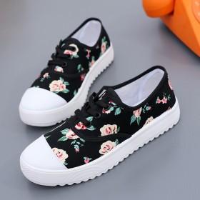 北京工艺布鞋2017年春季新款时尚单鞋开车遛弯女鞋