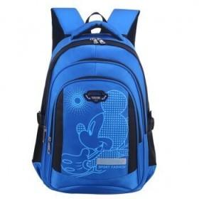 减负护脊小学生书包防水耐磨(送礼品27样)