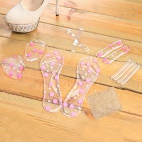 夏季高跟鞋垫6件套 6件套 6件套 硅胶柔软减压