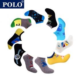 【专柜】POLO/美国保罗 袜子男个性时尚男夏