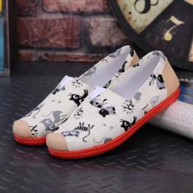 2017春季老北京布鞋单鞋工作鞋时尚女鞋开车遛弯鞋