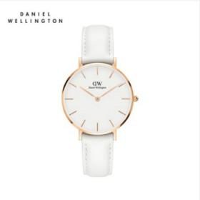新款丹尼尔惠灵顿白色dw手表女款时尚腕表