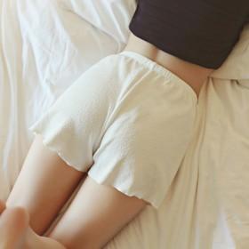夏季薄款短裤裤防走光女短裤百搭显瘦卷边外穿打底裤