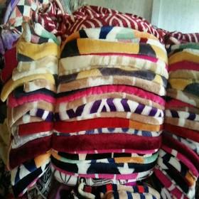 小毛毯珊瑚绒纯色毯子