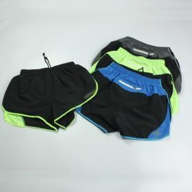 2XU 外贸出口 男子速干三分有内衬 跑步裤运动裤