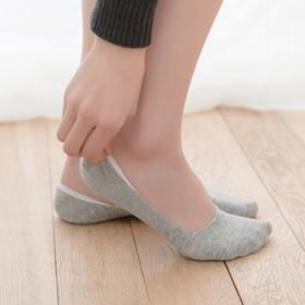 5双装纯棉隐形船袜女袜