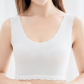 2件装 冰丝防走光打底小背心裹胸抹胸