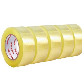 5卷透明胶带封箱带封箱胶带包装胶带封口胶