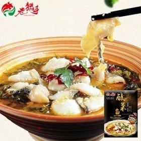 老猎手酸菜鱼调味料家用炒菜调料包310g