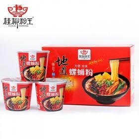 桂柳粉王冲泡型6桶装螺蛳粉广西柳州正宗螺狮粉米粉