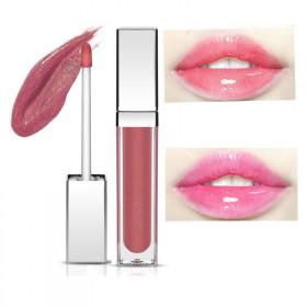 世丽雅 性感唇蜜唇彩奢华有LED灯发光带镜唇膏持久