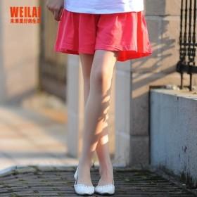 夏装孕妇装夏款韩版孕妇棉料五分裤裙 短裤托腹