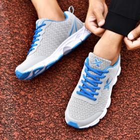 夏季男鞋透气网面鞋学生韩版潮鞋薄款休闲跑步鞋健身运