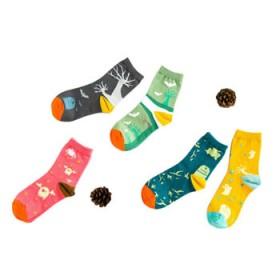 15款可选 日系甜美个性中筒纯棉女袜学生四季运动袜