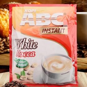 印尼原装进口ABC白咖啡摩卡味