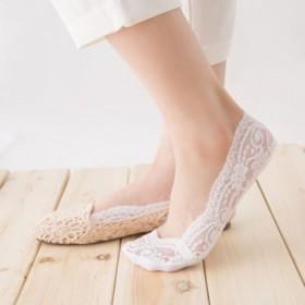 5双装蕾丝船袜女袜 硅胶防滑低帮夏季薄款隐形