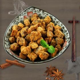 原味靖江猪肉脯干肉类食品牛肉风味猪肉粒200g酱烤