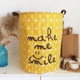 脏衣篮玩具收纳桶超大号布艺棉麻脏衣篓