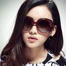 防紫外线太阳镜时尚女款复古大框墨镜开车驾驶镜