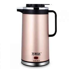 双层防烫电热水壶不锈钢自动保温电热壶电茶壶