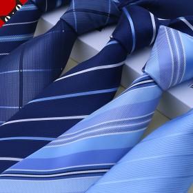 领带男士真丝商务正装