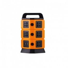 接线板排插立式电源插座拖线板带USB插口