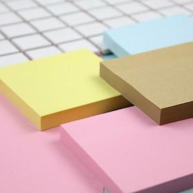 彩色便利贴纸告示贴便签本子