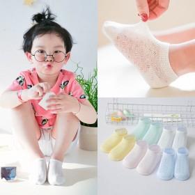 5双装夏天薄款儿童袜子 颜色可选