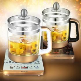 养生壶全自动多功能加厚玻璃黑茶煮茶器电热烧水壶