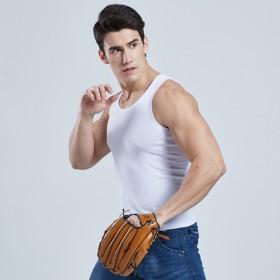 新品包邮男士纯棉健身背心夏男背心透气青年运动打底工