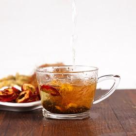 乌梅菊花茶玉米须枸杞山楂陈皮组合型花草茶去湿茶