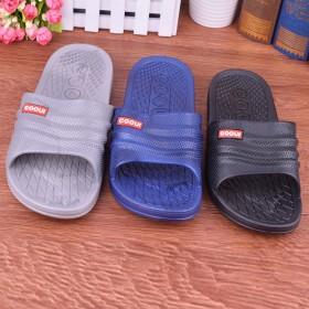 夏季新款时尚情侣凉拖鞋男女防滑浴室拖鞋耐磨家居拖鞋