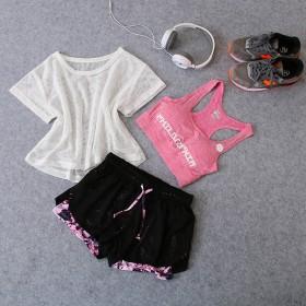 【包邮】 瑜伽服三件套 健身服套装 特价