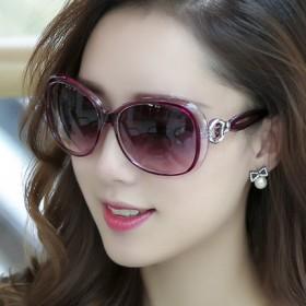 2017新款圆形个性女墨镜开车太阳镜韩国眼睛