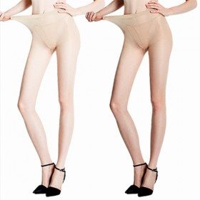 丝袜女包芯丝防勾丝超薄款连裤袜隐形透明春秋打底性感