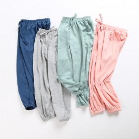 女童男童灯笼长裤子防蚊裤薄款夏装
