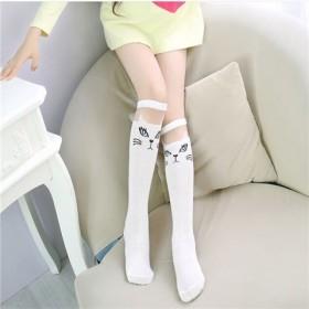 儿童中筒袜宝宝过膝袜学生表演袜子四季袜