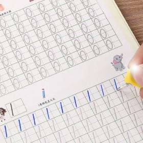 幼儿字帖3-10岁初学者启蒙数字拼音汉字英语简笔画