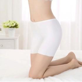 夏季爆款韩版冰丝修身显瘦防走光保险打底裤专柜