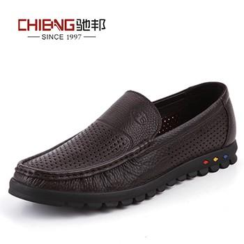 驰邦夏季镂空透气男鞋