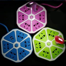 智能USB插座学生礼品创意家居用品生活日常家庭日小